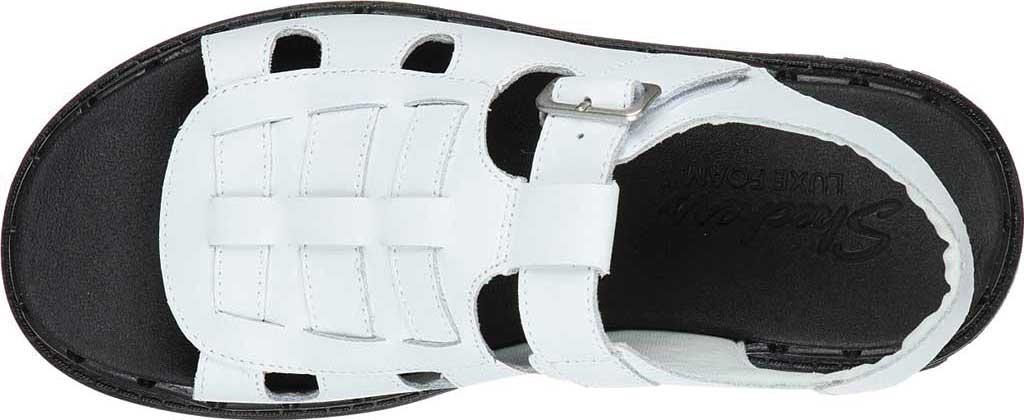 Women's Skechers Jammers Throwback Slingback Sandal, White, large, image 4