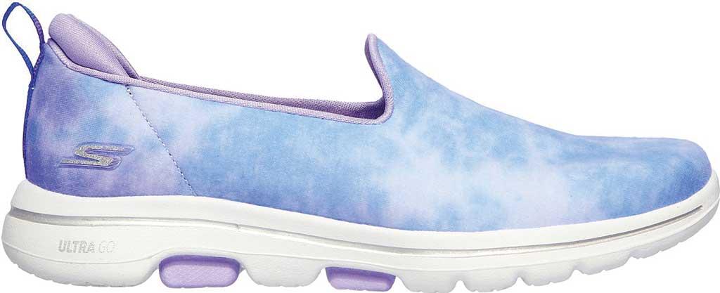 Women's Skechers GOwalk 5 Chroma Slip-On, Purple/Multi, large, image 2