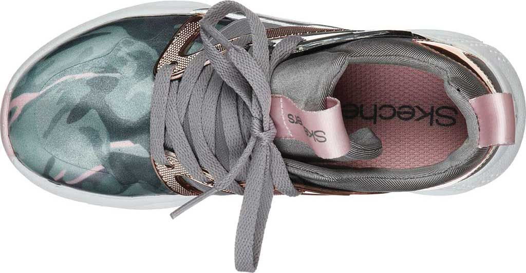 Girls' Skechers Shine Status Hint of Wild Sneaker, Camouflage, large, image 4
