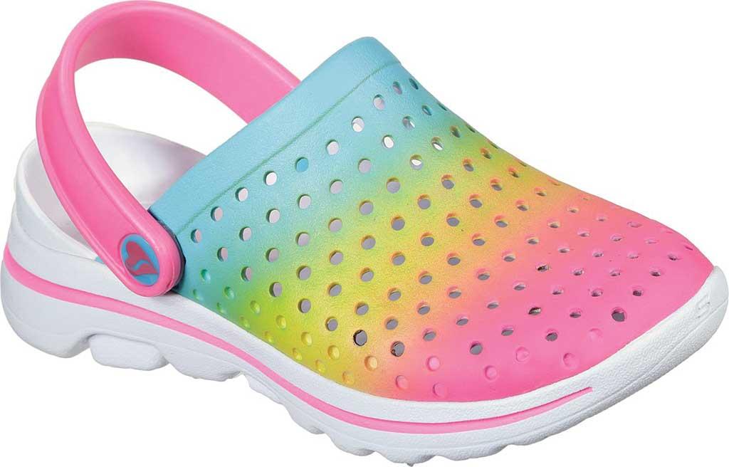 Girls' Skechers Foamies GOwalk 5 Play By Play Clog, Multi, large, image 1