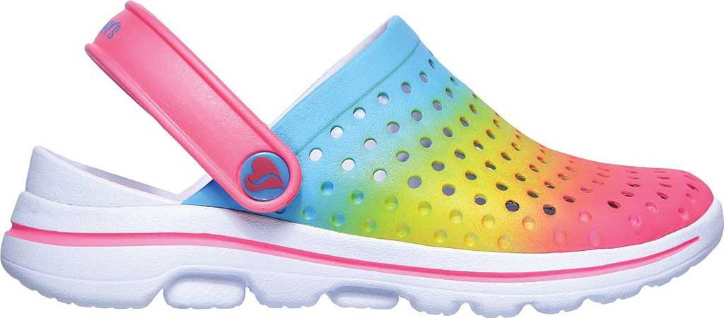 Girls' Skechers Foamies GOwalk 5 Play By Play Clog, Multi, large, image 2