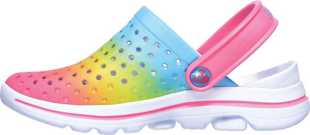 Girls' Skechers Foamies GOwalk 5 Play By Play Clog, Multi, large, image 3