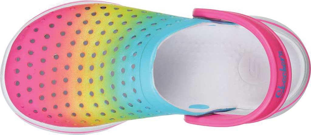 Girls' Skechers Foamies GOwalk 5 Play By Play Clog, Multi, large, image 4
