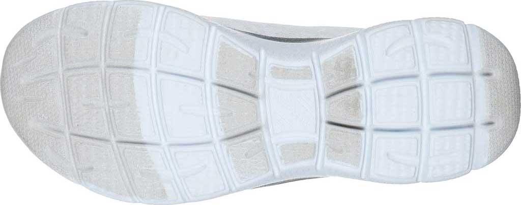 Women's Skechers Summits Leopard Spot Sneaker, White/Silver, large, image 5