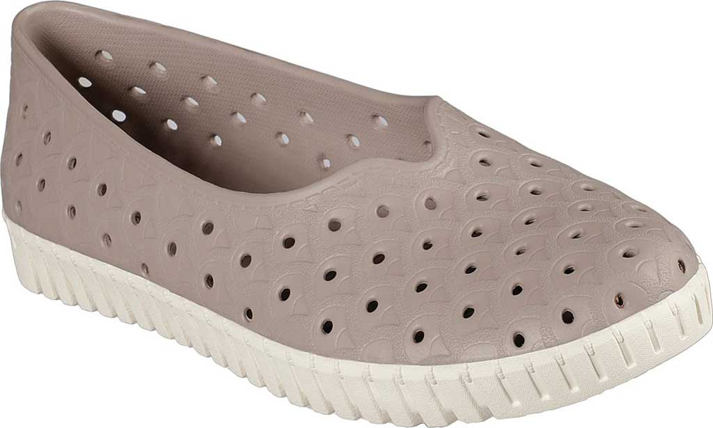 Women's Skechers Foamies Sepulveda Flourish Water Shoe, Taupe, large, image 1