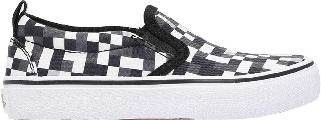 Boys' Skechers Skech-Craft Street Fame Slip-On, White/Black, large, image 2