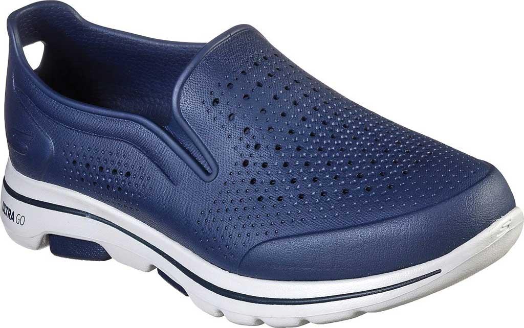 Men's Skechers Foamies GOwalk 5 Easy Going Slip-On, Navy, large, image 1