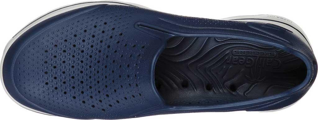 Men's Skechers Foamies GOwalk 5 Easy Going Slip-On, Navy, large, image 4