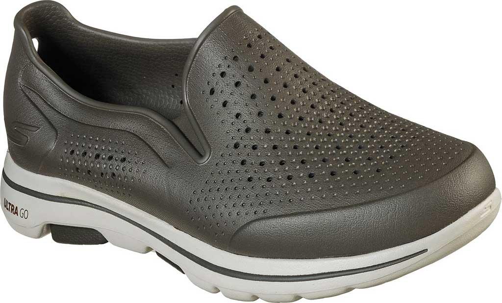 Men's Skechers Foamies GOwalk 5 Easy Going Slip-On, Olive, large, image 1
