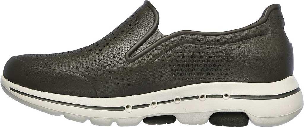 Men's Skechers Foamies GOwalk 5 Easy Going Slip-On, Olive, large, image 3