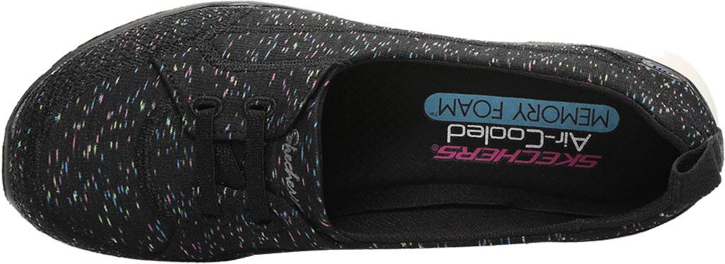Women's Skechers Microburst 2.0 She Got This Slip On Sneaker, Black/Multi, large, image 5