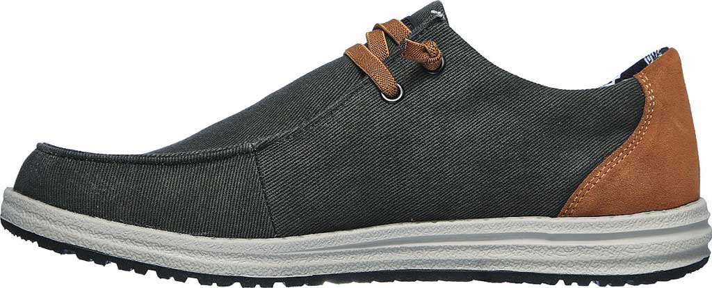 Men's Skechers Relaxed Fit Melson Parlen Chukka Boot, Black, large, image 3