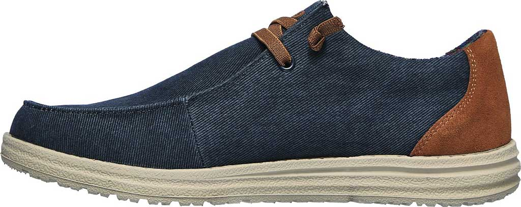 Men's Skechers Relaxed Fit Melson Parlen Chukka Boot, Navy, large, image 3
