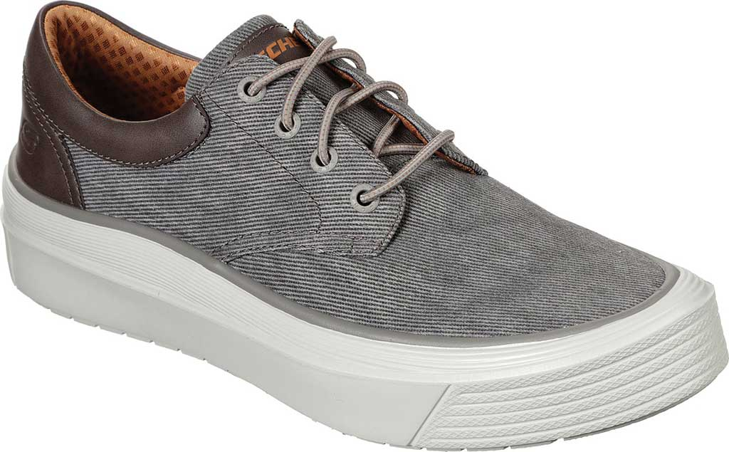 Men's Skechers Viewport Talson Sneaker, Taupe, large, image 1