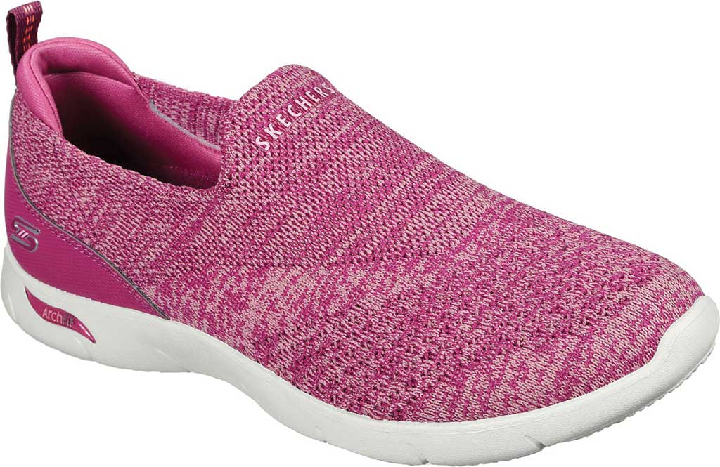 Women's Skechers Arch Fit Refine Don't Go Slip-On, Raspberry, large, image 1