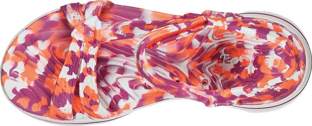Women's Skechers Foamies GOwalk 5 Riptide Sandal, Purple/Multi, large, image 4