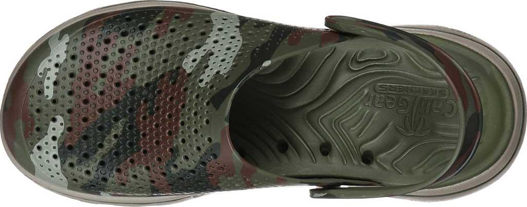 Men's Skechers Foamies GOwalk 5 Hideout Clog, Olive, large, image 4