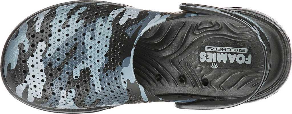 Men's Skechers Foamies GOwalk 5 Hideout Clog, Black/Gray, large, image 4