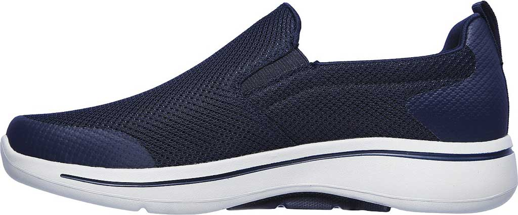 Men's Skechers GOwalk Arch Fit Togpath Slip-On, Navy/Gray, large, image 3
