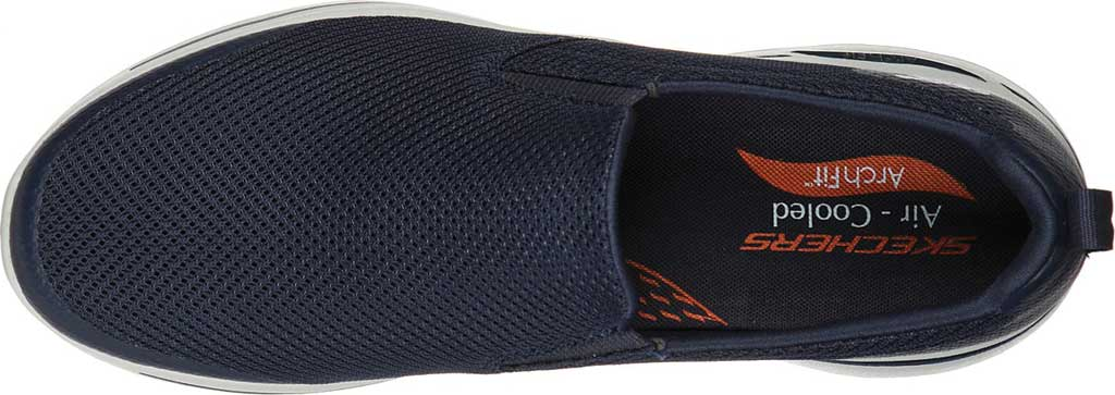 Men's Skechers GOwalk Arch Fit Togpath Slip-On, Navy/Gray, large, image 4