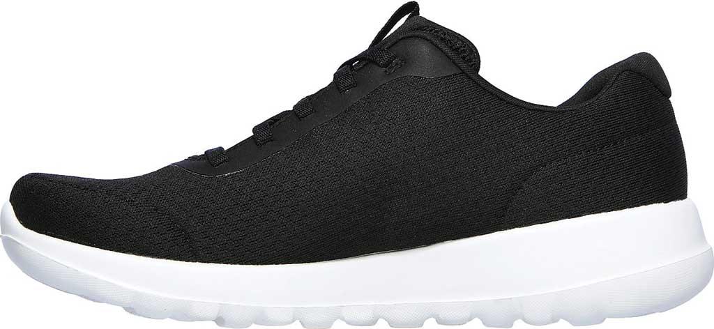 Women's Skechers GOwalk Joy Ecstatic Sneaker, Black/White, large, image 3