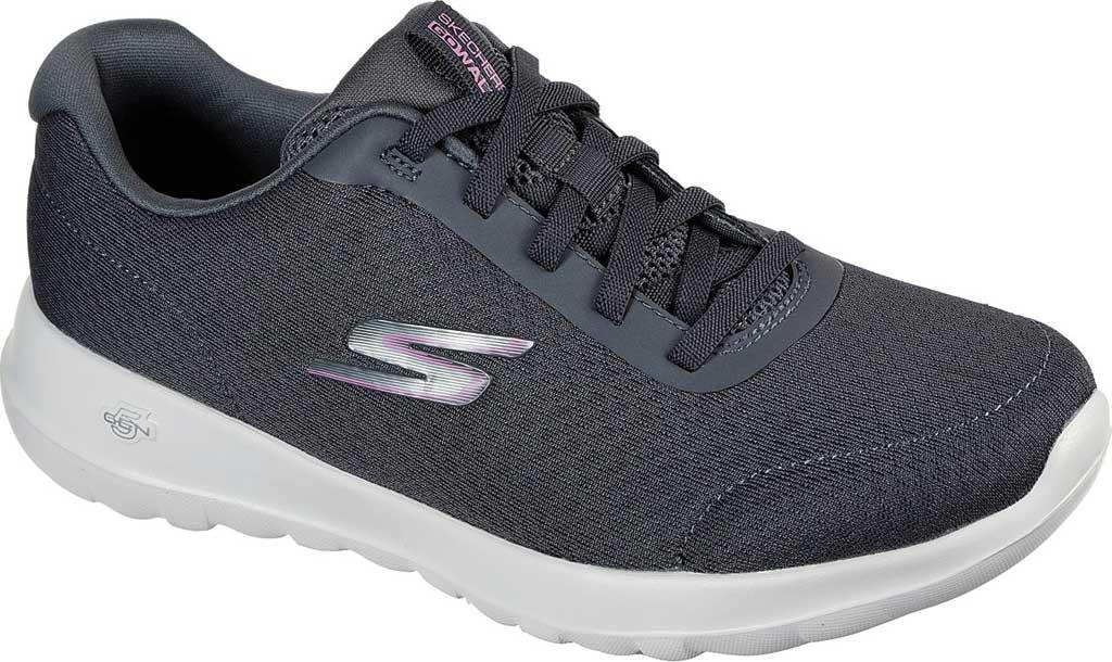 Women's Skechers GOwalk Joy Ecstatic Sneaker, Charcoal, large, image 1