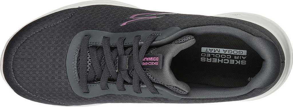 Women's Skechers GOwalk Joy Ecstatic Sneaker, Charcoal, large, image 4