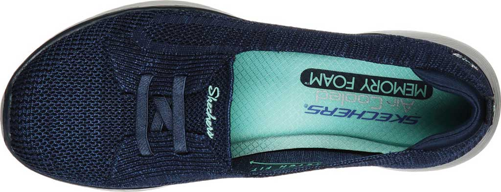 Women's Skechers Microburst 2.0 Irresistible Slip-On, Navy, large, image 4