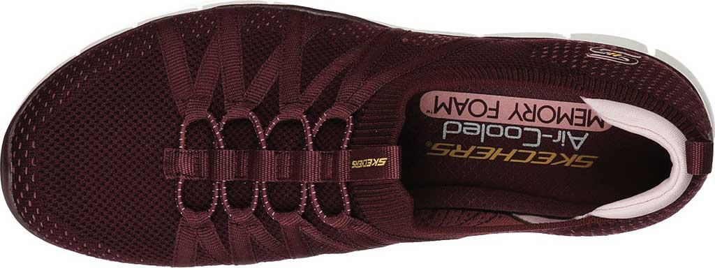 Women's Skechers Gratis Chic Newness Sneaker, Plum, large, image 4