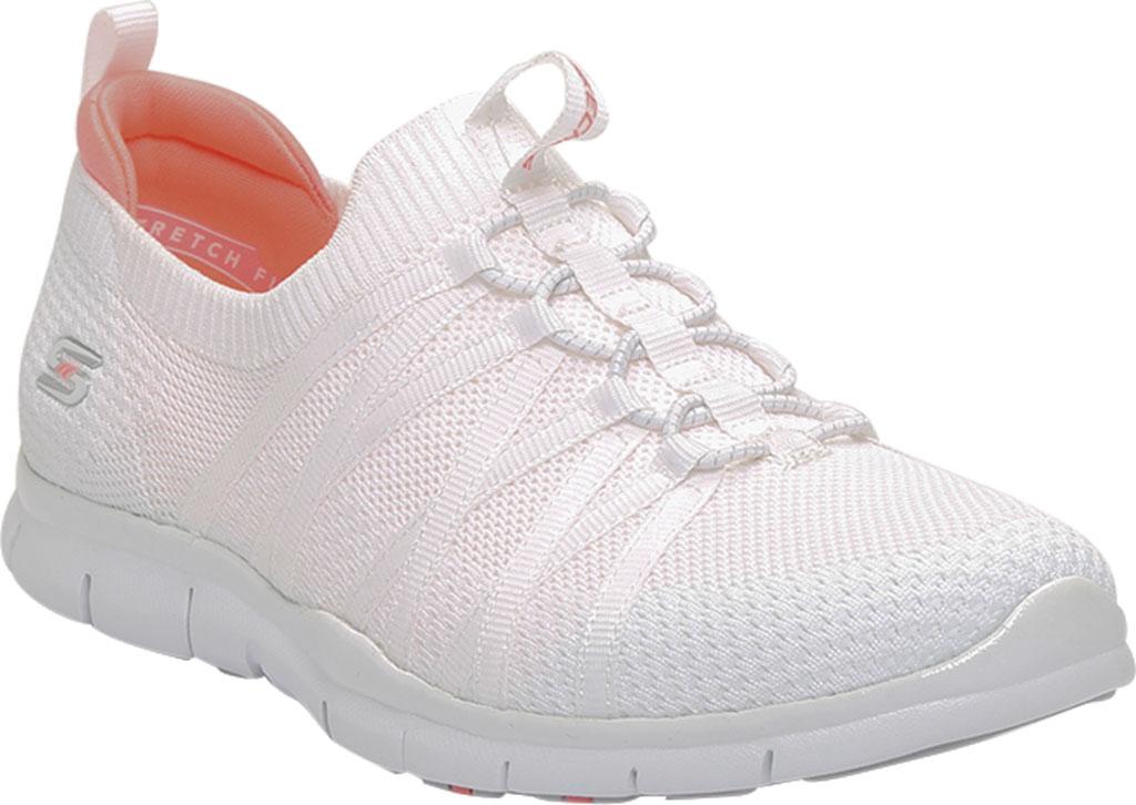 Women's Skechers Gratis Chic Newness Sneaker, White, large, image 1