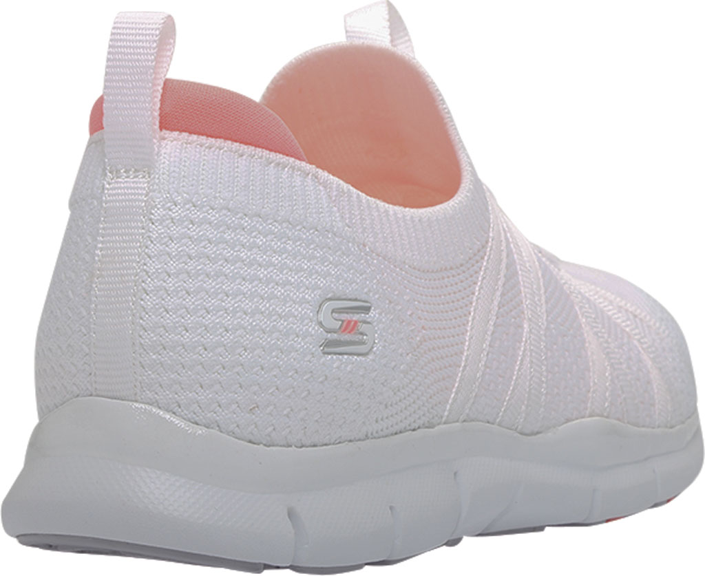 Women's Skechers Gratis Chic Newness Sneaker, White, large, image 4