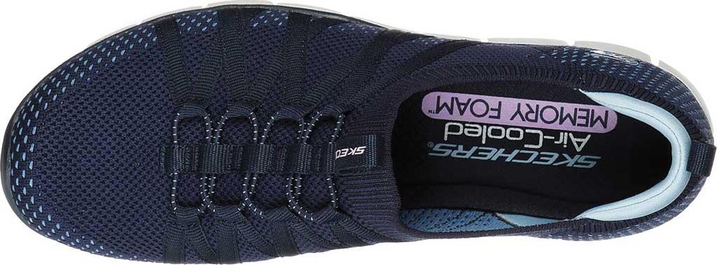 Women's Skechers Gratis Chic Newness Sneaker, Navy, large, image 4