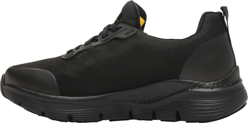 Women's Skechers Work Arch Fit Vermical Sneaker, Black, large, image 3