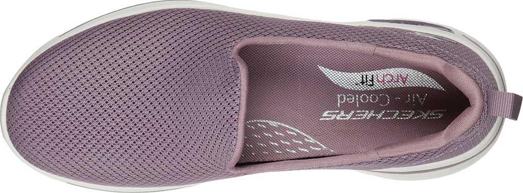 Women's Skechers GOwalk Arch Fit Grateful Slip On Sneaker, Mauve, large, image 4