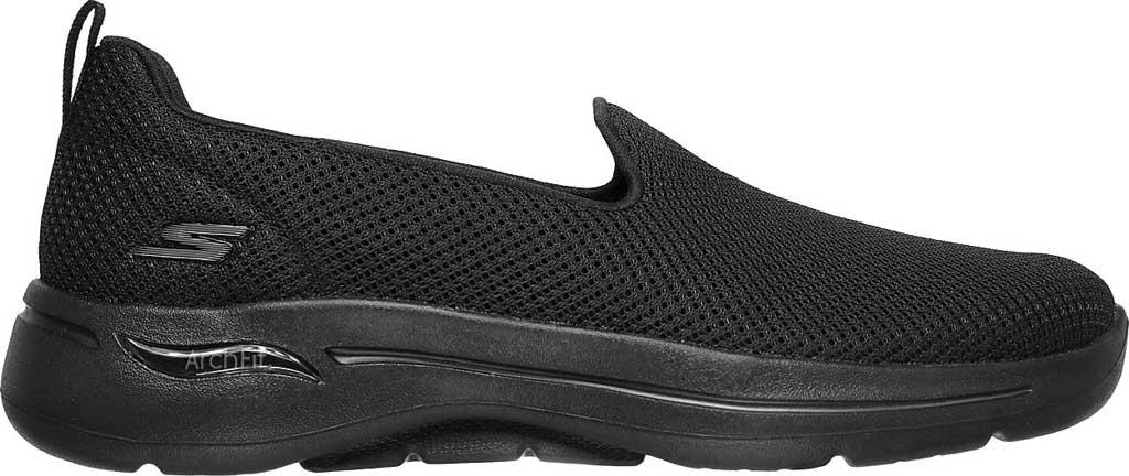 Women's Skechers GOwalk Arch Fit Grateful Slip On Sneaker, Black/Black, large, image 2