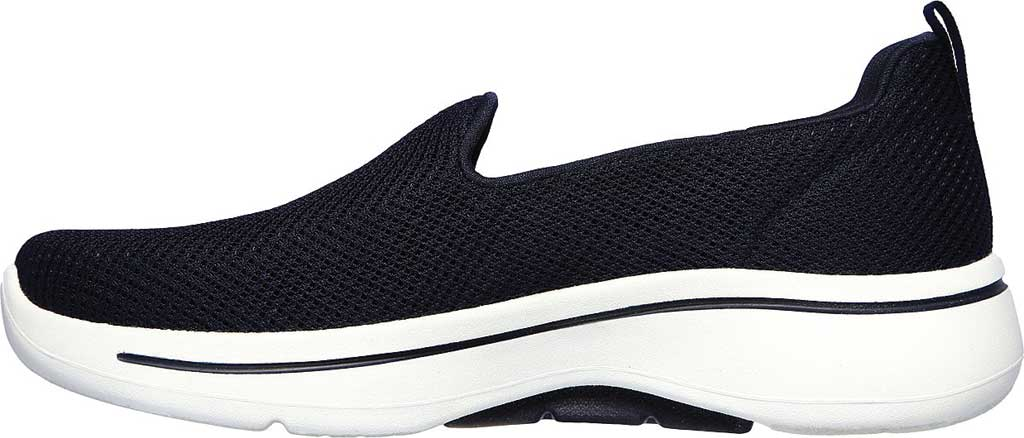 Women's Skechers GOwalk Arch Fit Grateful Slip On Sneaker, Navy/White, large, image 3