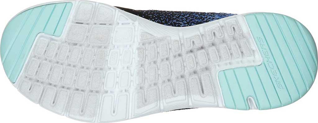 Women's Skechers Flex Appeal 3.0 She's Iconic Sneaker, Black/Blue, large, image 5