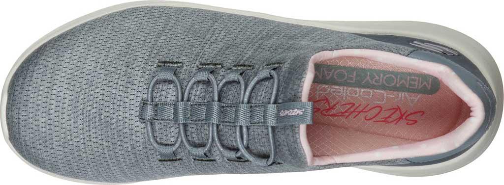 Women's Skechers Ultra Flex 2.0 Delightful Spot Sneaker, Gray/Pink, large, image 4