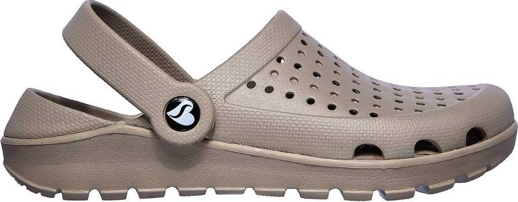 Women's Skechers Foamies Footsteps Transcend Clog, Taupe, large, image 2
