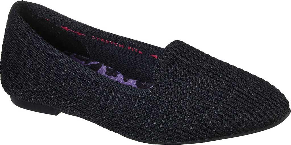 Women's Skechers Cleo Psychic Flat, Black/Black, large, image 1