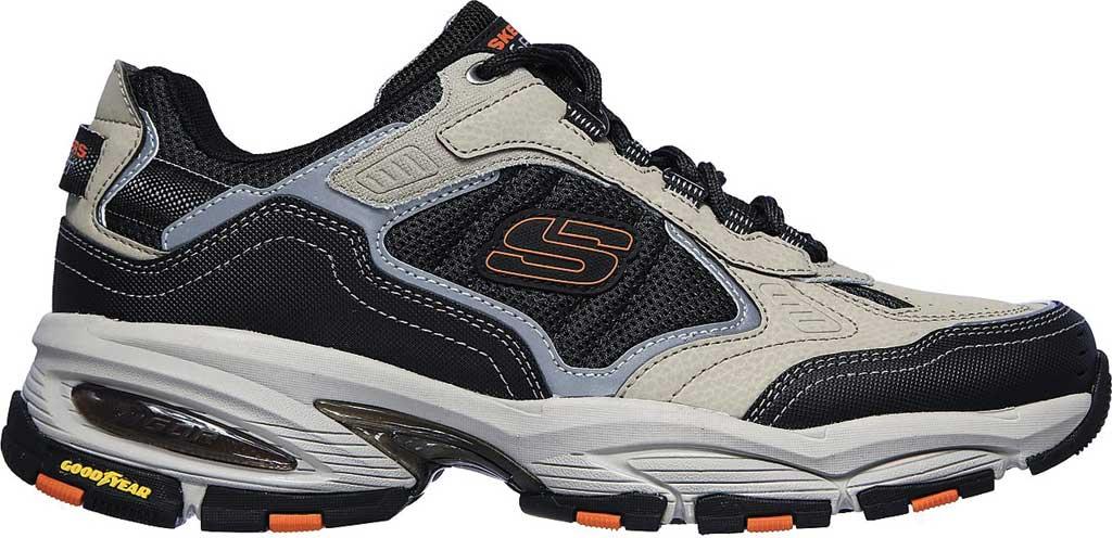 Men's Skechers Vigor 3.0 Sneaker, Taupe/Black, large, image 2