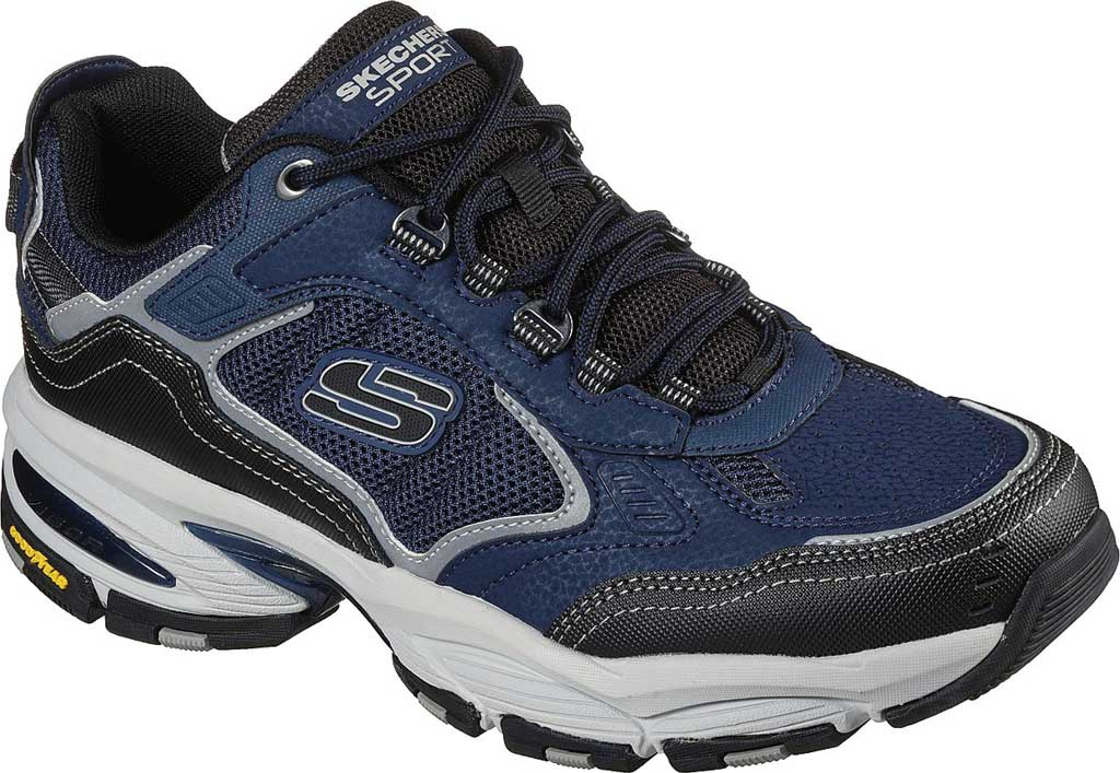 Men's Skechers Vigor 3.0 Sneaker, Navy/Black, large, image 1