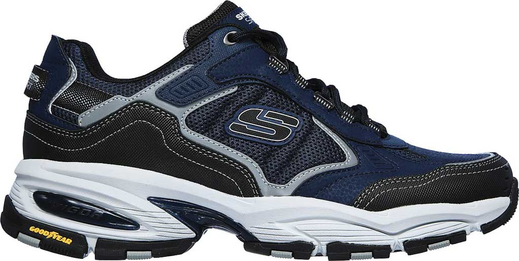 Men's Skechers Vigor 3.0 Sneaker, Navy/Black, large, image 2