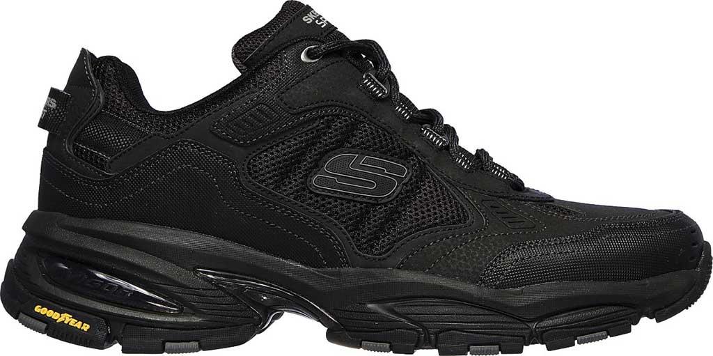 Men's Skechers Vigor 3.0 Sneaker, Black/Black, large, image 2