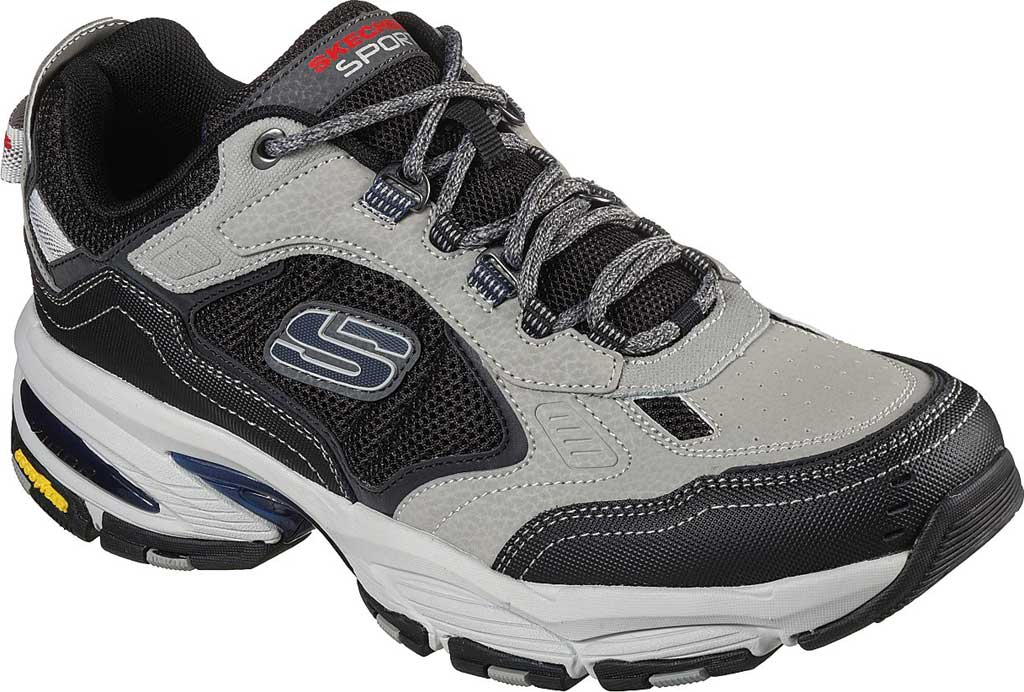 Men's Skechers Vigor 3.0 Sneaker, Gray/Black, large, image 1