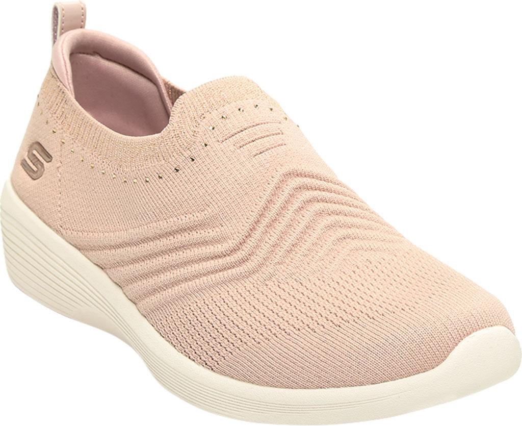 Women's Skechers Arya Sparks Joy Slip On Sneaker, Mauve, large, image 1
