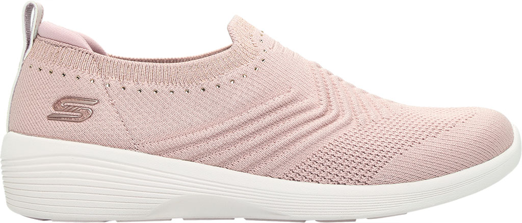 Women's Skechers Arya Sparks Joy Slip On Sneaker, Mauve, large, image 2