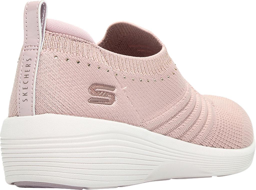 Women's Skechers Arya Sparks Joy Slip On Sneaker, Mauve, large, image 4