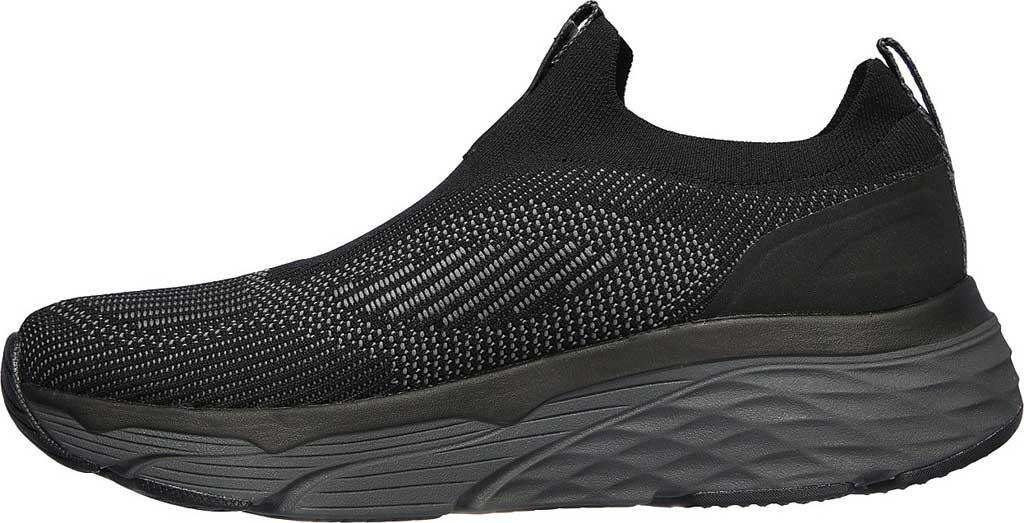 Men's Skechers Max Cushioning Elite Amplifier Sneaker, Black/Lime, large, image 3