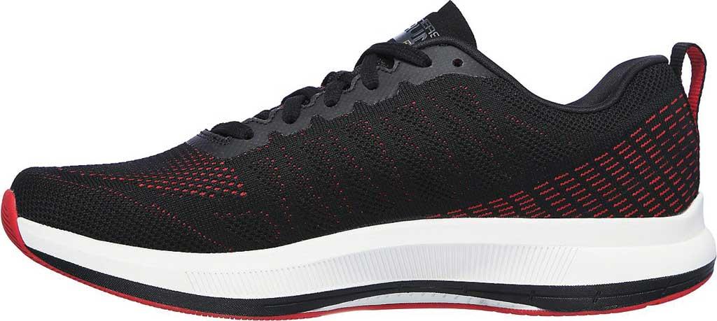 Men's Skechers GOrun Pulse Strada Sneaker, Black/Red, large, image 3